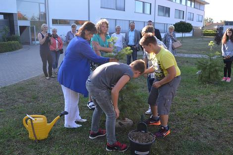 Erster Schultag in der Barleber Gemeinschaftsschule