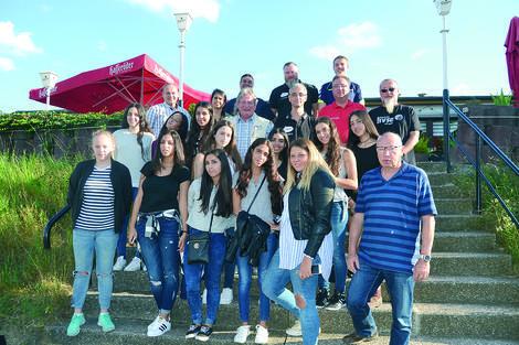 Israelische Handballerinnen in Barleben zu Gast