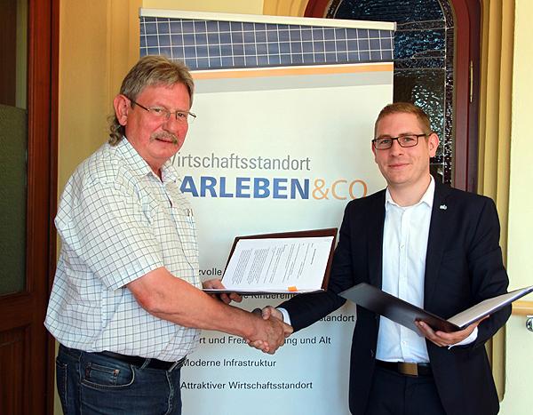 Gemeinde Barleben bezieht ab 2017 Strom und Erdgas von den Stadtwerken Burg