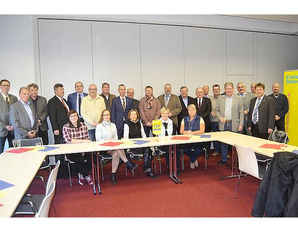 Dreikönigstreffen der Börde-Liberalen im Innovations- und Gründerzentrum in Barleben