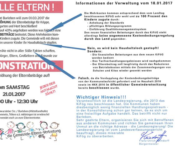 Informationen der Verwaltung