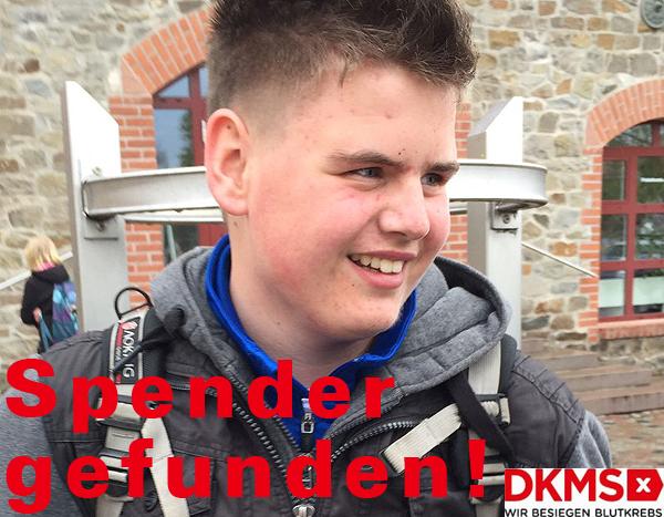 Treffer: Spender für Justin gefunden