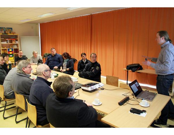 Mehr Freude am Gehen - Verkehrswacht Sachsen-Anhalt plan Pilotprojekt in Barleben