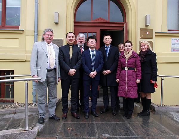 Bürgermeister trifft chinesische Wirtschaftsdelegation