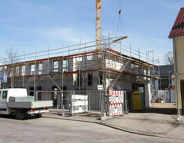 Baufortschritt am Objekt im Breiteweg in Barleben