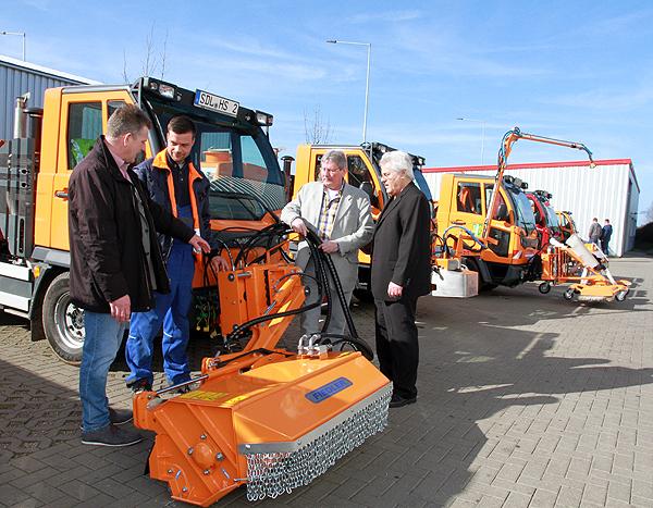 Fahrzeugpräsentation für Kommunen bei der Auto März GmbH