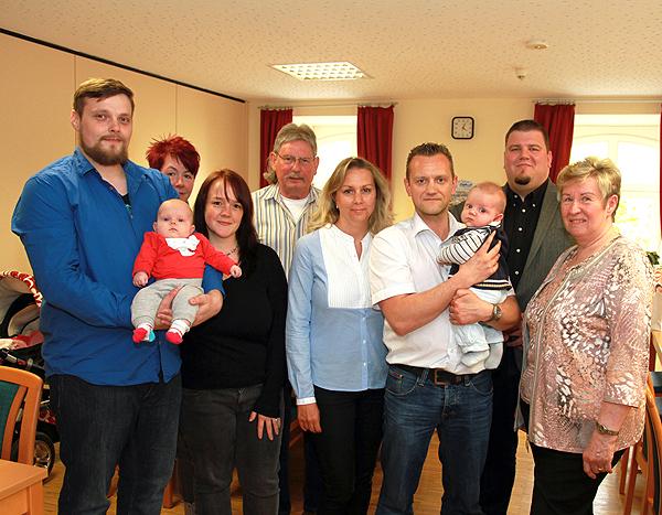 Wieder Babybegrüßungen in der Gemeinde Barleben