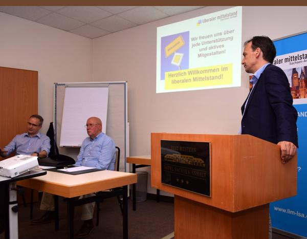 Liberaler Mittelstand diskutiert in Barleben über die Digitalisierung der Wirtschaft