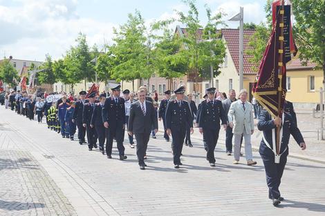 Barleber Feuerwehr feierte 125-jähriges Bestehen