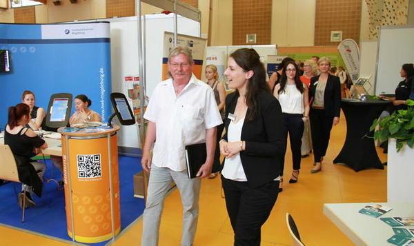 Über 2.000 Jugendliche zur vocatium Schülerfachmesse in Barleben