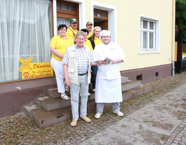 Schlüsselübergabe: Projekt Schaubäckerei kann starten