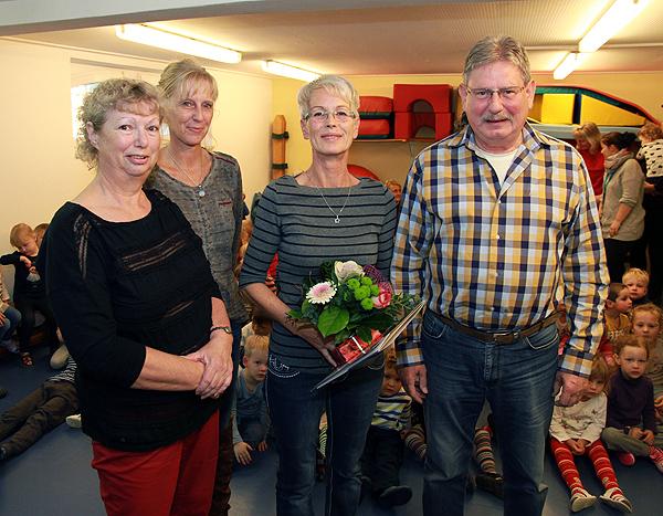 Bürgermeister gratuliert zum 40-jährigen Dienstjubiläum