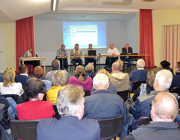 Einwohnerversammlung der Gemeinde Barleben in der Ortschaft Meitzendorf