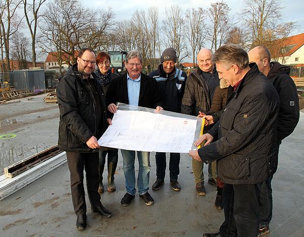 Bauarbeiten für Kitaneubau in Ebendorf gehen planmäßig voran