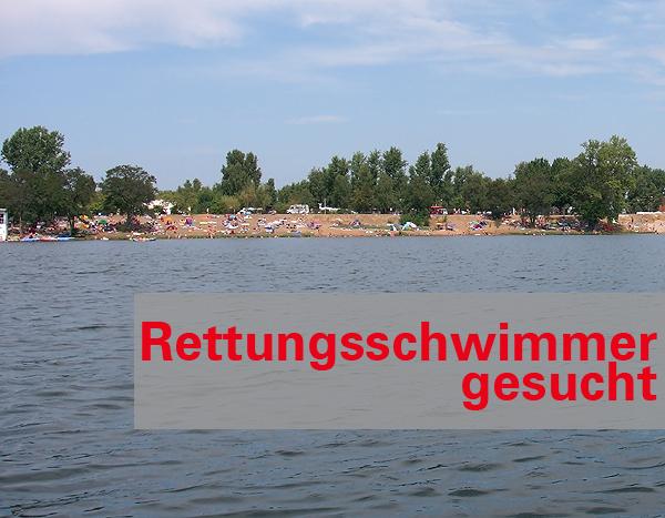 Gemeinde Barleben sucht Rettungsschwimmer für den Dienst am Jersleber See