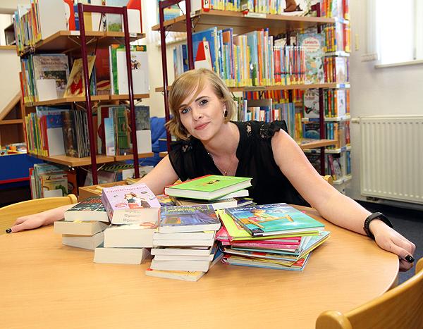 Bücher zum Schnäppchenpreis - Bücherflohmarkt in der Bibliothek Barleben