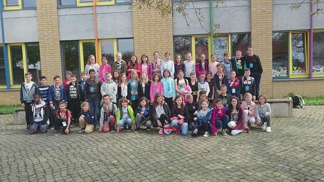 ECOLE Schüleraustausch: Schulklasse aus Frankreich in Barleben zu Gast