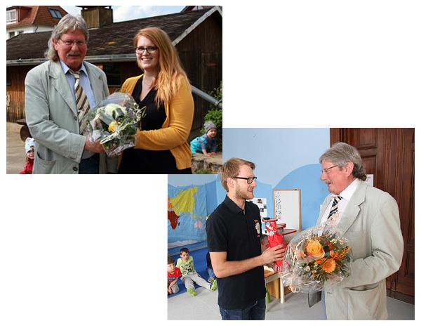 Bürgermeister gratuliert zum Studienabschluss