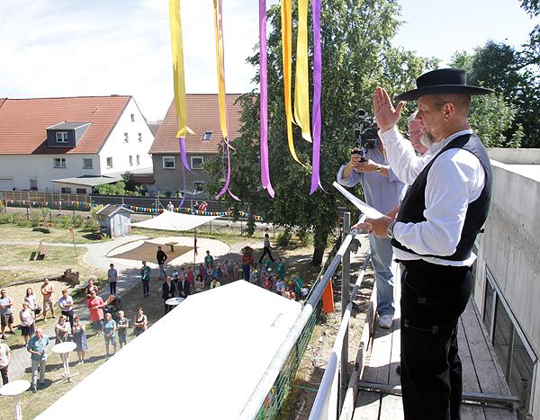 Richtfest Kita Ebendorf - Richtspruch