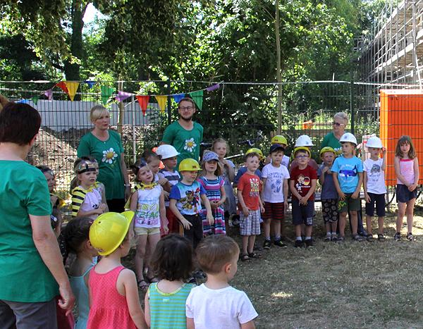 Richtfest Kita Ebendorf - Kinderprogramm