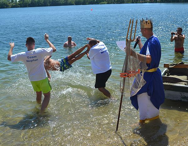 Neptunfest am Jersleber See - Badegäste erfreut über hervorragende Wasserqualität