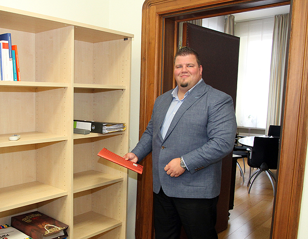 Amtsantritt als Bürgermeister - Frank Nase beginnt seine Arbeit als Bürgermeister der Gemeinde Barleben