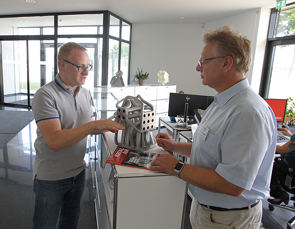Barleber Unternehmen ist international führender Anbieter für 3D-Druck-Verfahren