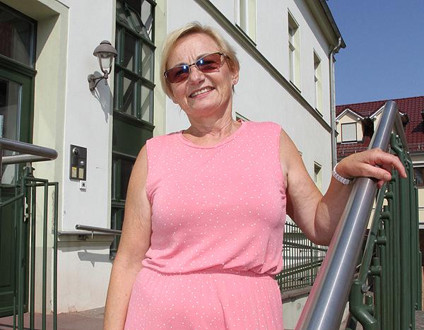 Sigrid Dörge sagt der Gemeindeverwaltung »Adieu«