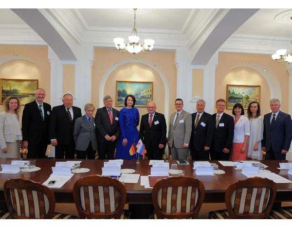 Wirtschaftsdelegation für Gespräche in Russland