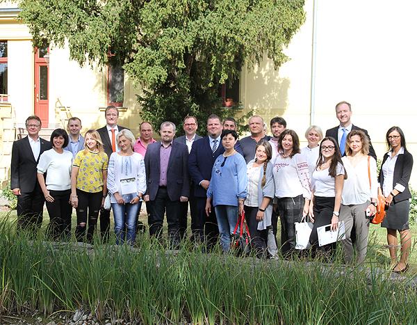 Delegation aus der Ukraine zu Gast