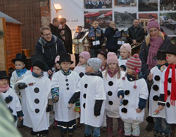 Weihnachtsmarkt Ebendorf Kinder