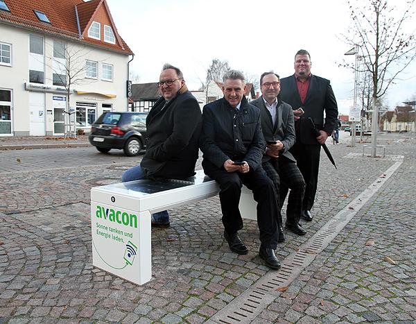 smart bench Probesitzen