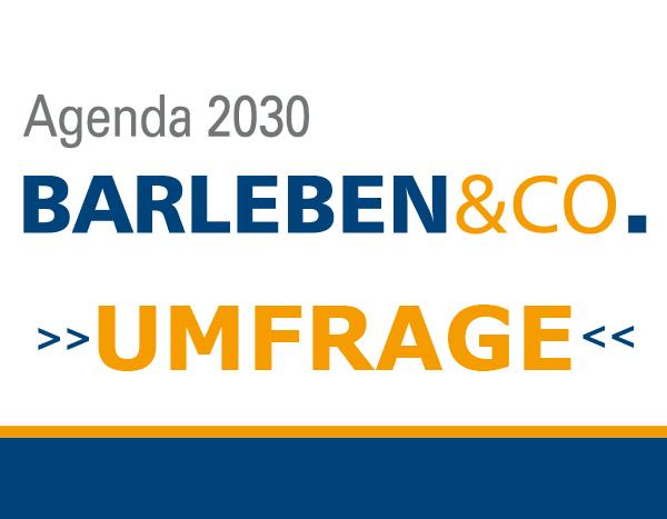 Barlebens Agenda 2030 - Umfrage zur Entwicklung der Gemeinde Barleben