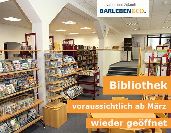 Bibliothek bald wieder geöffnet