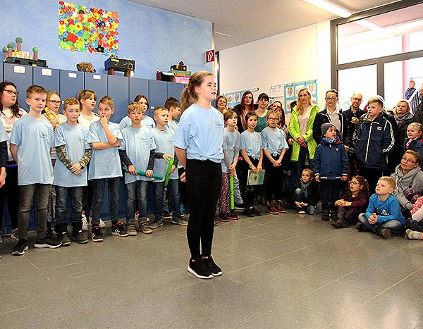Tag der offenen Tür Grundschule Eröffnung