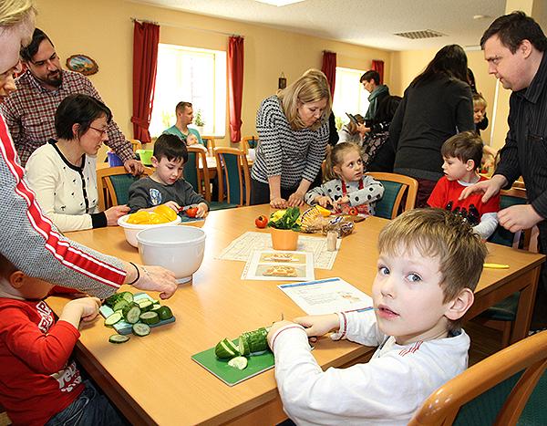 Kinder lernen, was gesund ist