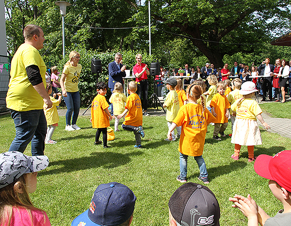 Eröffnung Kita Ebendorf Kinderprogramm