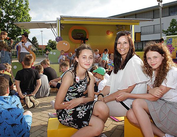 Fernsehnachrichten blicken auf Schulsozialarbeit in Barleben