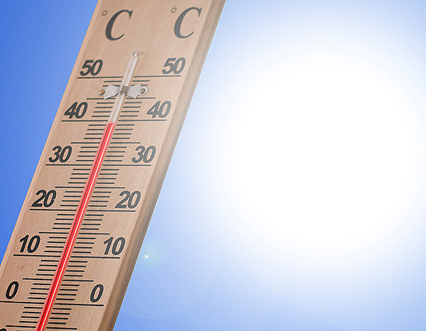 Thermometer Sonne