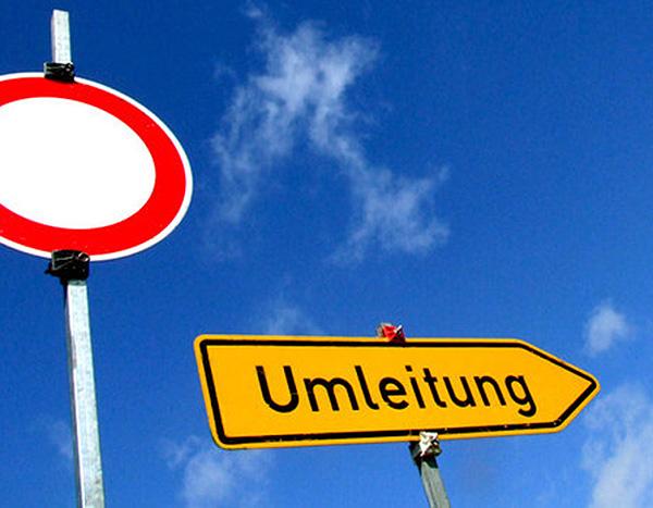 Umleitung_Straßensperrung_Bauarbeiten