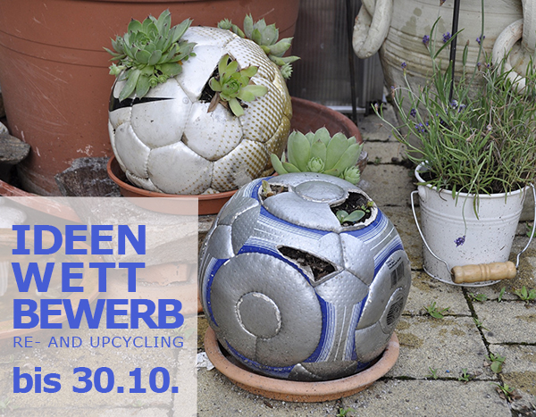 Ideenwettbewerb Re- and Upcycling