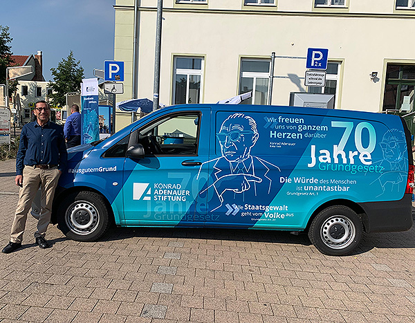 Adenauer Mobil in Barleben