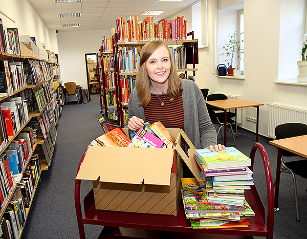 Bücherflohmarkt lockt in die Bibliothek