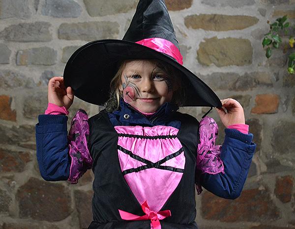 Fotoaktion an Halloween