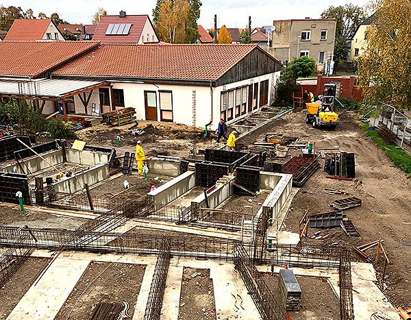 Ersatzneubau Kita Meitzendorf Bauarbeiten