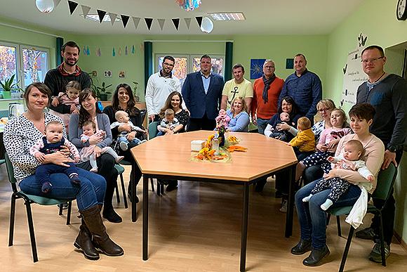 Gemeinde Barleben begrüßt ihre Babys