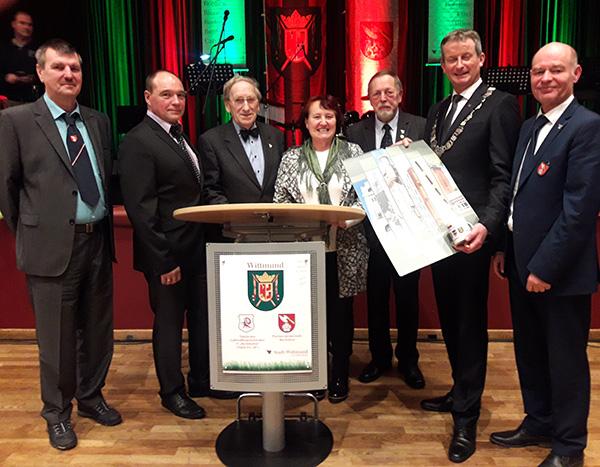 Barleber Delegation bringt Neujahrsgrüße nach Ostfriesland