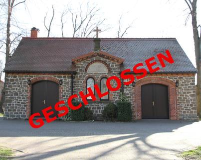 Trauerhallen bleiben geschlossen