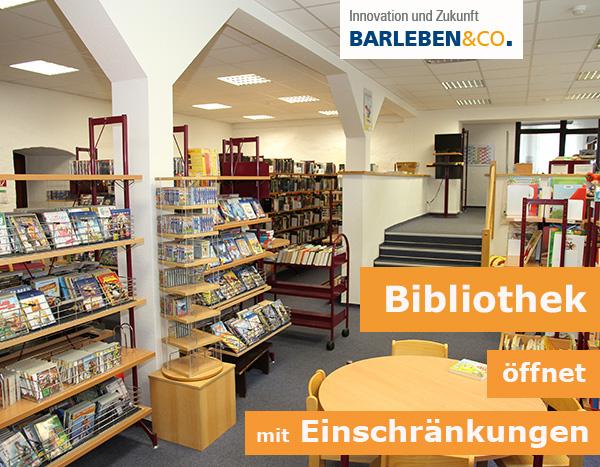 Bibliothek öffnet mit Einschränkungen