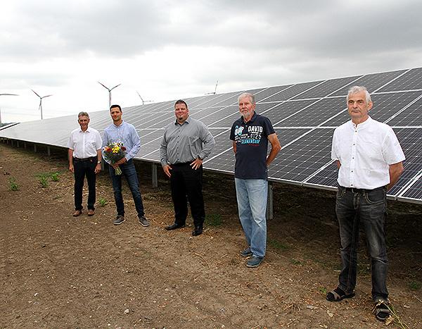 Photovoltaik-Anlage in Ebendorf in Betrieb genommen